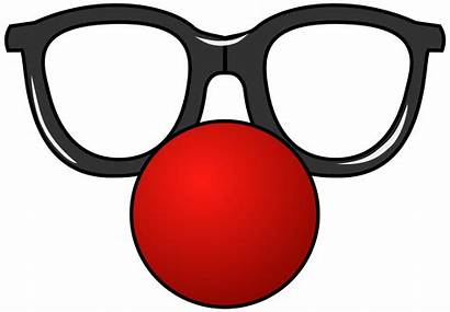 Glasses Clipart Party Funny Cliparts Clipground