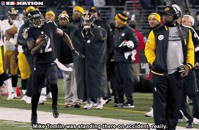 Tomlin Mike Sideline Nfl Coach Steelers Jones