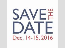 Save the Date 2016 Fall Meeting – MIST Center
