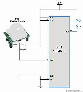 34 Motion Sensor Diagram
