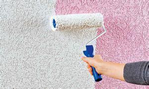 Rollputz Auftragen Dekorative Struktur Fuer Die Wand by Struktur Farbe Dekorative Putztechniken Selbst De