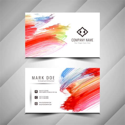 visiting card design eps   vector art