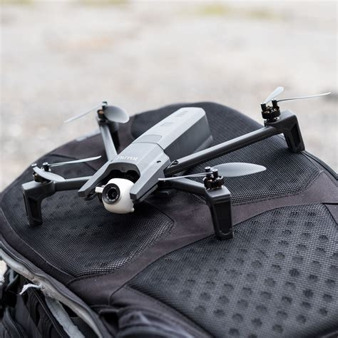 parrot anafi drone review flying high  falling short  verge