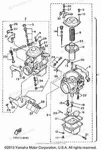 Yamaha Motorcycle 1987 Oem Parts Diagram For Carburetor