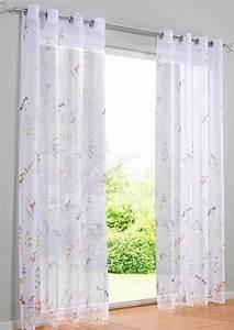 ösen Gardinen Weiß : gardine 135 x 225 oder 245 wei bunt floraler druck store sen kr uselband neu ebay ~ Whattoseeinmadrid.com Haus und Dekorationen