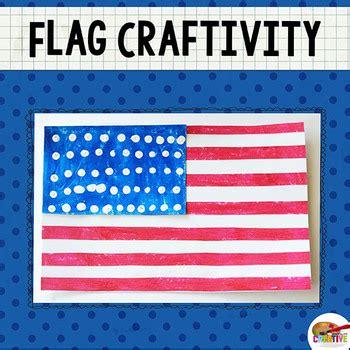american flag printable craft template  keeping life