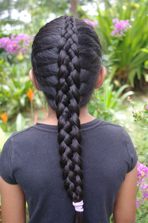 Braids And Hairstyles For Super Long Hair Micronesian Girl