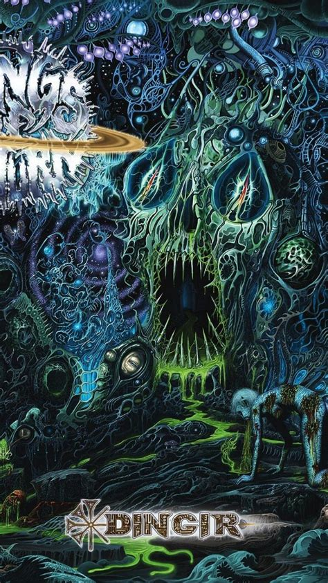 covers deathcore technical death metal ring  wallpaper
