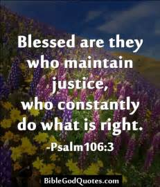 Bible Quotes About Justice