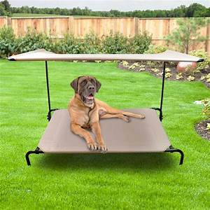 shade frame and canopy garden winds With outdoor covered dog bed