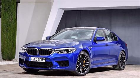 Bmw M5 Picture by 2018 Bmw M5 Leaks Before Global Premiere Carscoops
