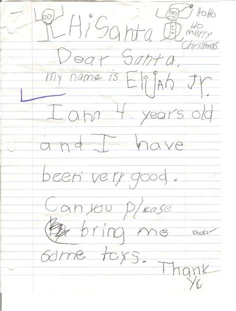 letter to child about santa real letters to santa claus from images photos 28277