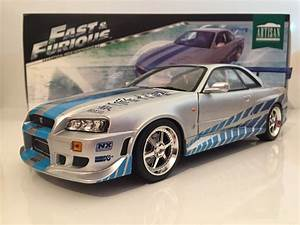 Nissan Skyline Fast And Furious : fast and furious 2 fast 2 furious brians 1999 nissan skyline gt r r34 1 18 scale 689827157311 ebay ~ Medecine-chirurgie-esthetiques.com Avis de Voitures