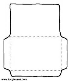 envelope coloring printable clipart best