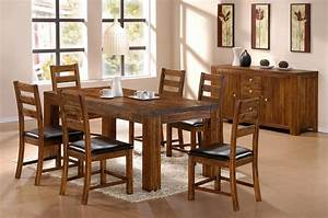 casual dining set with stunning decor inspiring alluring With modern wood dining room sets