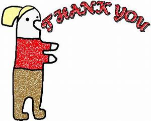 Animated gifs : Thanks, thank you