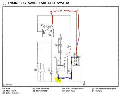 Kubotum Starter Wiring by Orangetractortalks Everything Kubota View Single Post