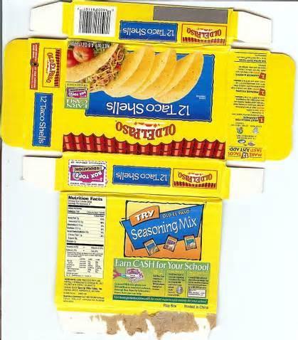 American Girl Doll Food Box Printables