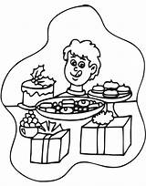 Diner Christmas Coloring Pages Template Sketch sketch template