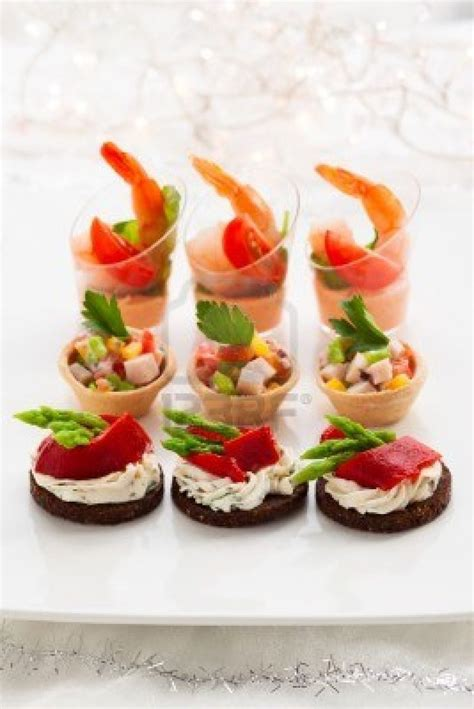 canape appetizer gold cupcake wrappers a collection of food and drink