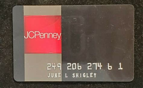 How do i find the nearest jcpenney store? JCPENNEY credit card♡Free Shipping♡cc1245 | eBay