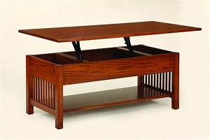 Amish mission coffee table w lift top mission tables for Amish lift top coffee table