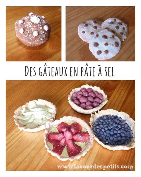 cuisine patisserie idées pour la dinette 1 des gâteaux en pâte à sel la