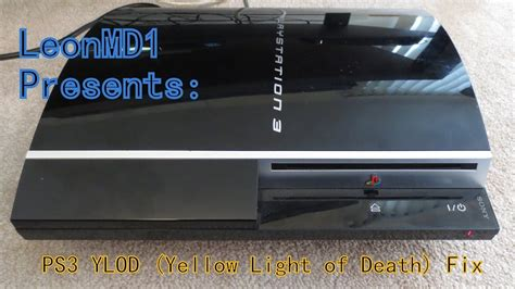 how to fix yellow light of death ps3 ps3 yellow light of death ylod fix youtube