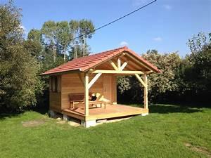 Nivrem com = Terrasse De Jardin En Bois Couverte