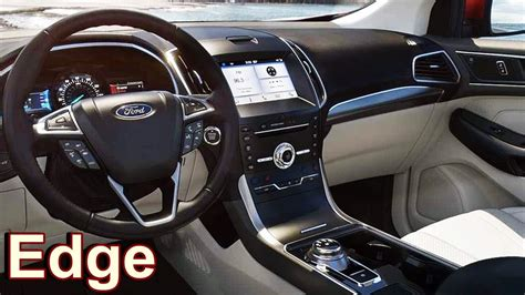 2019 Ford Interior by 2019 Ford Edge Interior