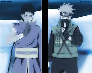 Naruto 636: Kakashi vs. Obito by YameGero on DeviantArt
