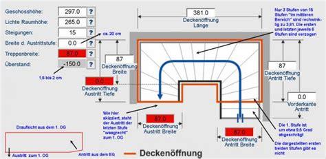 Treppe Gewendelt Konstruieren by Treppenwangen Berechnen Ausf Hrungsbeispiel