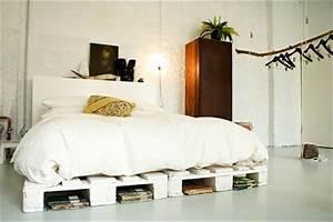 Gestaltung Mit Paletten : bett aus paletten 32 coole designs ~ Markanthonyermac.com Haus und Dekorationen