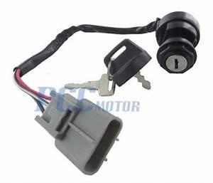 Ignition Key Switch Yayamaha Grizzly 350 Yfm 350 400 550