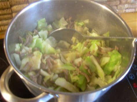 cuisiner chou pointu idée minute pour chou pointu le gac de fallais