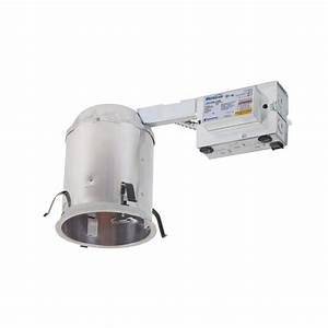 Halo h in aluminum cfl recessed lighting housing for
