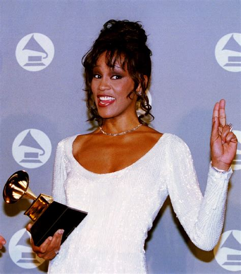 Thirty Inspiration Whitney Houston During Her 30s
