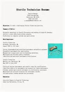 sterile processing manager resume sle sterile processing tech resume bestsellerbookdb
