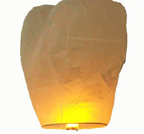 Lanterne Volanti Lanterne Volanti Cuore Bianco 3g