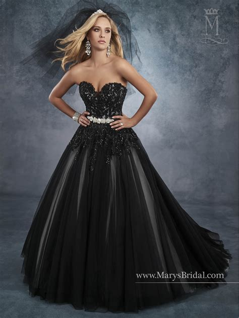 bridal wedding dresses style   blackwhite