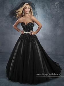 bridal wedding dresses style 6541 in black white