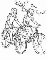 Coloring Pages Printable Sports Bicycle Sheets Adult Bike Riding Bikes Boys Print Drawing Ride Raisingourkids Activity Bluebonkers Child Books Different sketch template