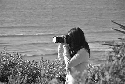 Camera Beach Woman Weird Pexels Photographer Villainesse