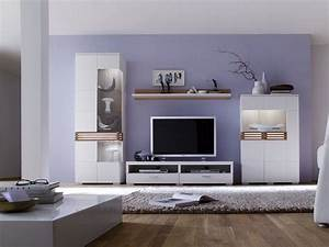 Weiße Möbel Wohnzimmer : wei e wohnwand loop i 4 teilig wei m bel wohnzimmer wohnwand wei e m bel pinterest ~ Orissabook.com Haus und Dekorationen