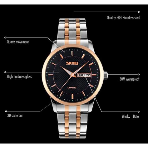 skmei jam tangan analog skmei jam tangan analog premium pria 9119 white