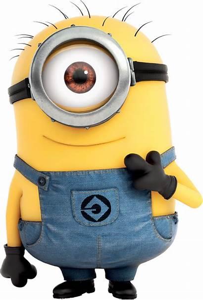 Minion Minions Stuart Transparent Clipart Despicable Eye