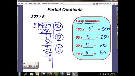 partial quotients flipped  youtube