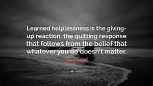 Martin E.P. Sel... Helplessness