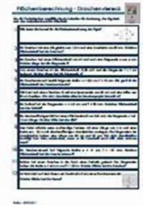 Diagonale Berechnen Online : bungen textaufgaben fl chenberechnung drachenviereck ~ Themetempest.com Abrechnung