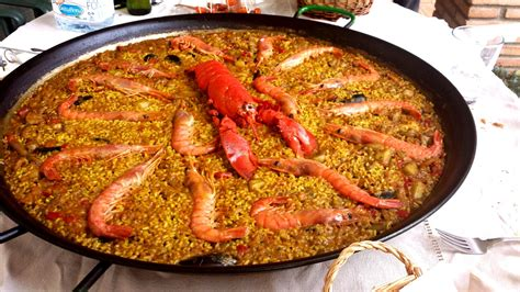 european cuisine free images dish fish rice lobster paella